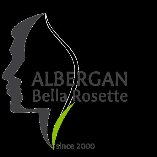 Albergan Bella Rosette logo
